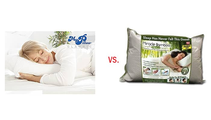 MyPillow Premium vs Miracle Bamboo Pillow – Which Pillow Should Buy